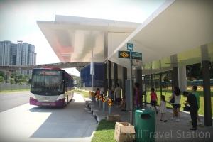 Bukit Panjang MRT Exit B Bus Stop 01