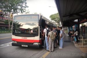 Marsiling MRT Opposite Bus Stop 02