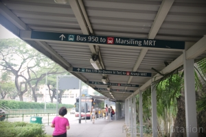 Woodlands Train Checkpoint Bus Stop 04