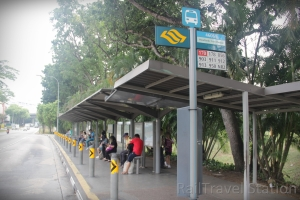 Woodlands Train Checkpoint Bus Stop 06