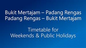 Bukit Mertajam Padang Rengas Weekends