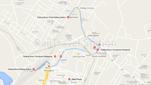Padang Besar Border Map 02
