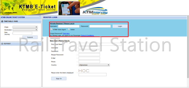 E-Ticket Booking 03
