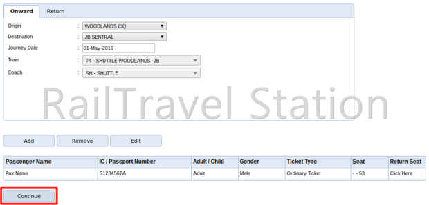 E-Ticket Booking 15