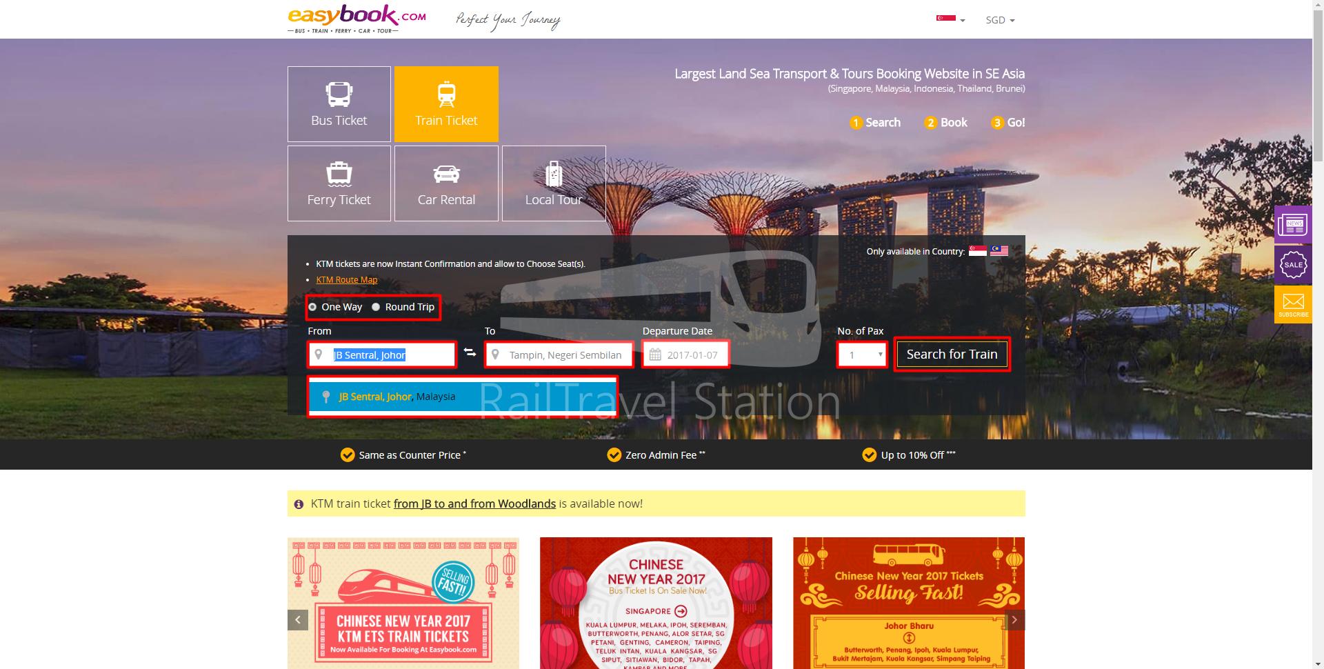 how to buy ets ticket online