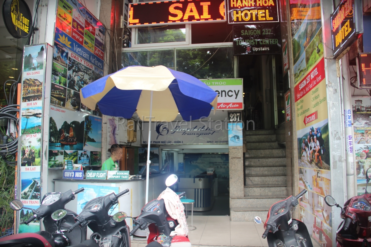 Day 31: Purchasing Phnom Penh and Siem Reap bus tickets in Ho Chi Minh City