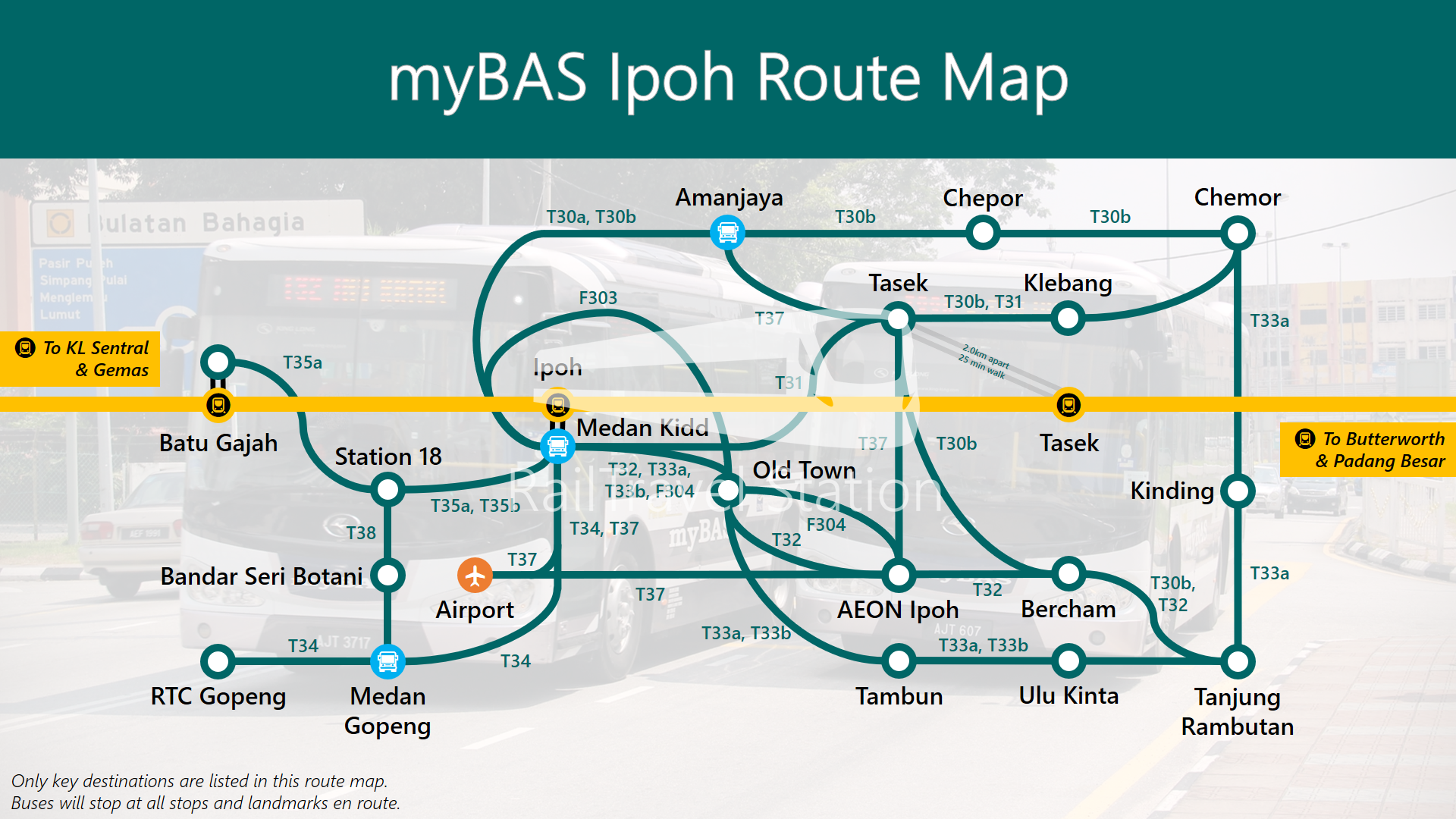 myBAS Ipoh Service Guide RailTravel Station