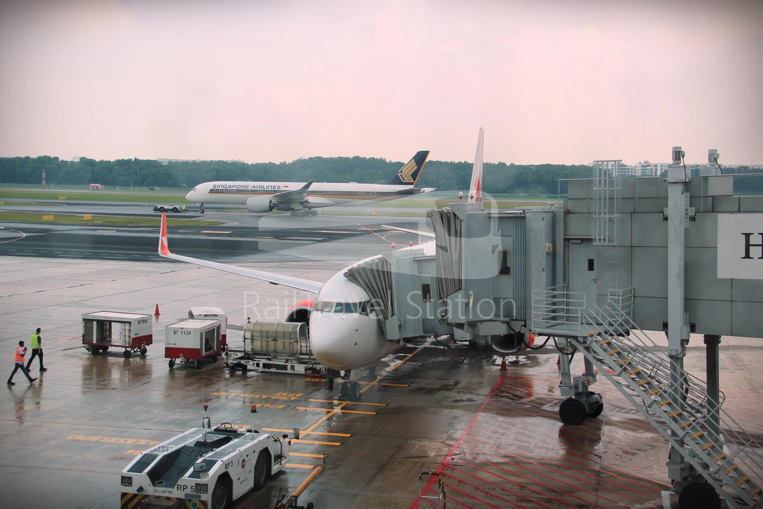 Malindo Air/Batik Air Malaysia OD804: Singapore to Kuala Lumpur by Business Class