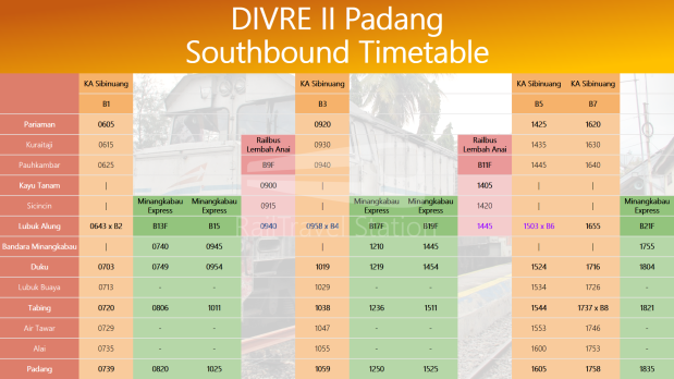 Divre II Southbound 01
