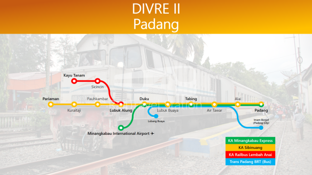 TRAINS1M2 Divre II Padang with Trans Padang 01