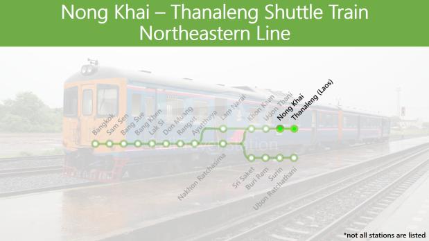 TRAINS1M2 SRT Northeastern Line Nong Khai Thanaleng Shuttle Train.png